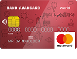 MasterCard World PayPass Charity Red
