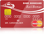 MasterCard World RailBonus