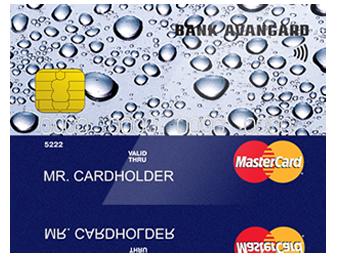 Кредитная карта «Авангарда»