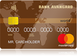 Банк «Авангард» MasterCard World Cash Back